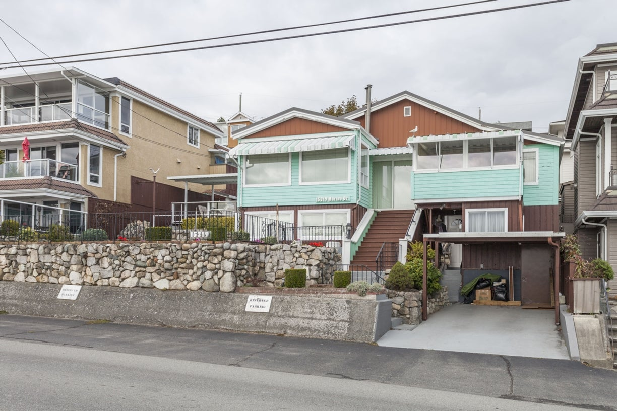15319 MARINE DRIVE - White Rock House/Single Family for sale, 2 Bedrooms (R2001565) #1