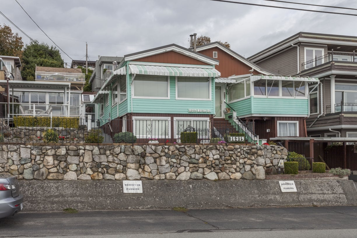 15319 MARINE DRIVE - White Rock House/Single Family for sale, 2 Bedrooms (R2001565) #3